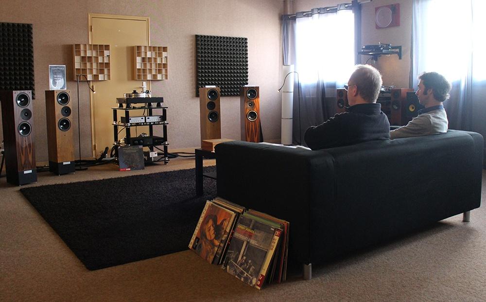 Écoutes personnalisées dans l'Auditorium Hi-Fi de Rennes