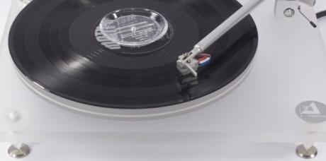 La platine vinyle Clearaudio Emotion Limited en écoute dans l'Auditorium Hi-Fi Rennes