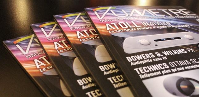 Le magazine VUmètre dans l'Auditorium Hi-Fi Rennes