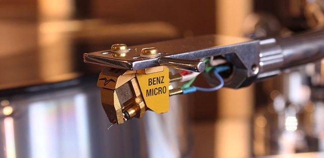 La cellule Benz Micro Glider SL en écoute dans l'Auditorium de Rennes