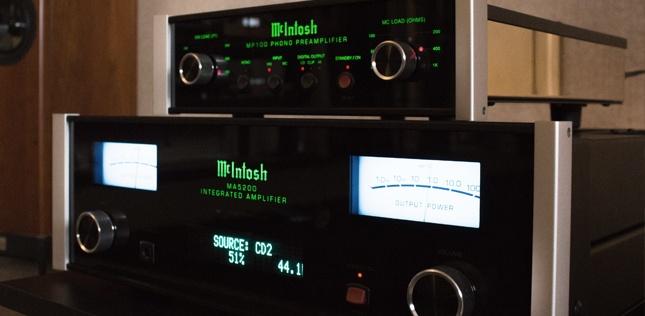 La marque Mc Intosh en écoute dans l'Auditorium de Rennes