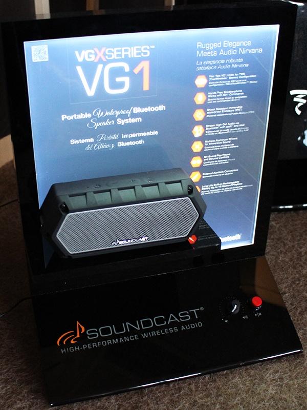 Enceinte portable Bluetooth Soundcast VG1 dans Auditorium Hi-Fi Rennes