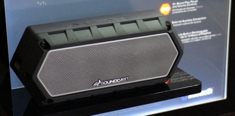 L'enceinte Bluetooth Soundcast VG1 en démo dans l'Auditorium de Rennes