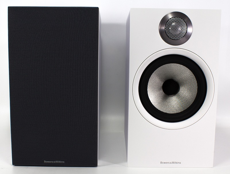 Enceintes de bibliotheque Bowers and Wilkins 606