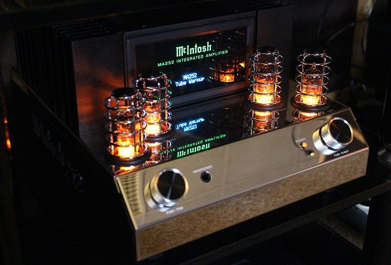 Amplificateur intégré Mc Intosh MA 252 dans Auditorium Hi-Fi Rennes