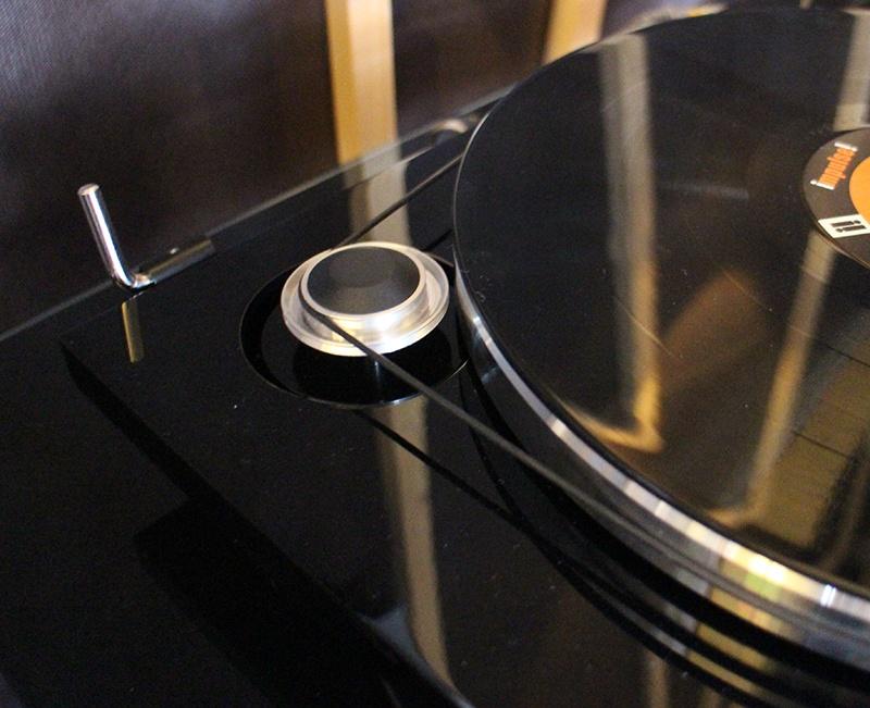 Entrainement par courroie de la platine vinyle EAT Prelude