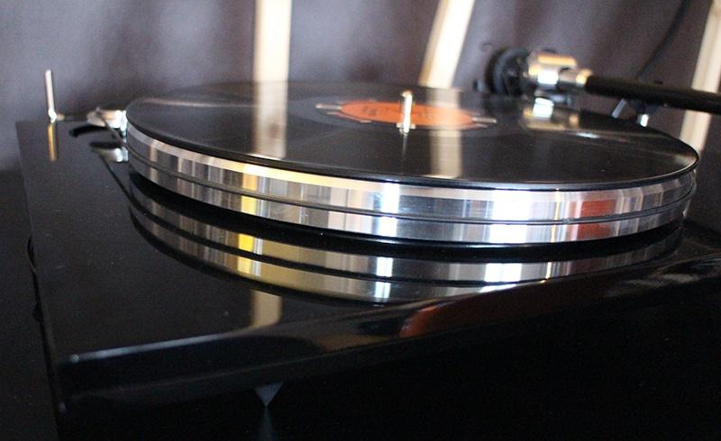 Plateau de la platine vinyle EAT Prelude