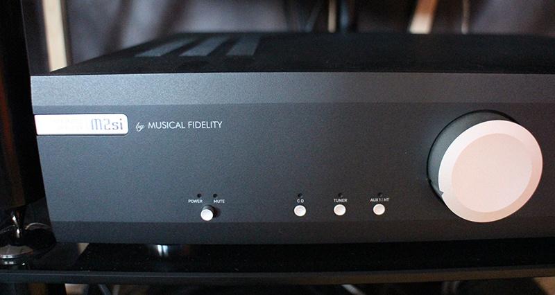 Amplificateur intégré Musical Fidelity M2 Si dans l'Auditorium Hi-Fi Rennes