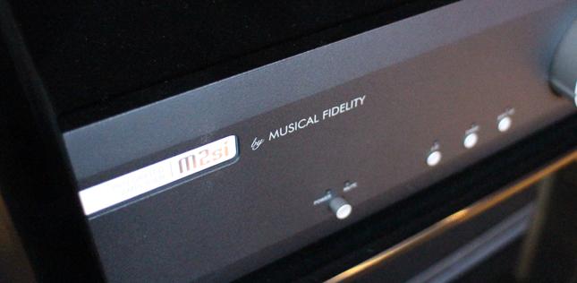 L'ampli intégré Musical Fidelity M2 Si dans l'Auditorium Hi-Fi de Rennes
