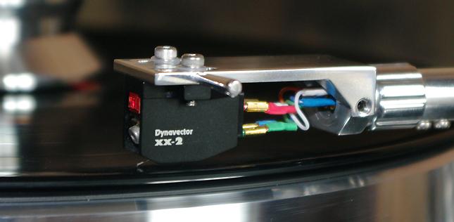 La cellule Dynavector DV XX2 MKII en écoute dans l'Auditorium Hi-Fi de Rennes