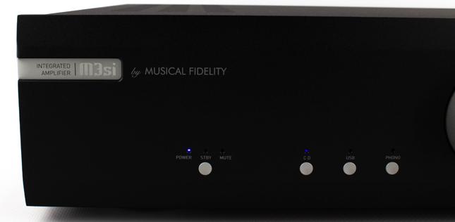 L'ampli intégré Musical Fidelity M3 Si en écoute dans l'Auditorium Hi-Fi de Rennes